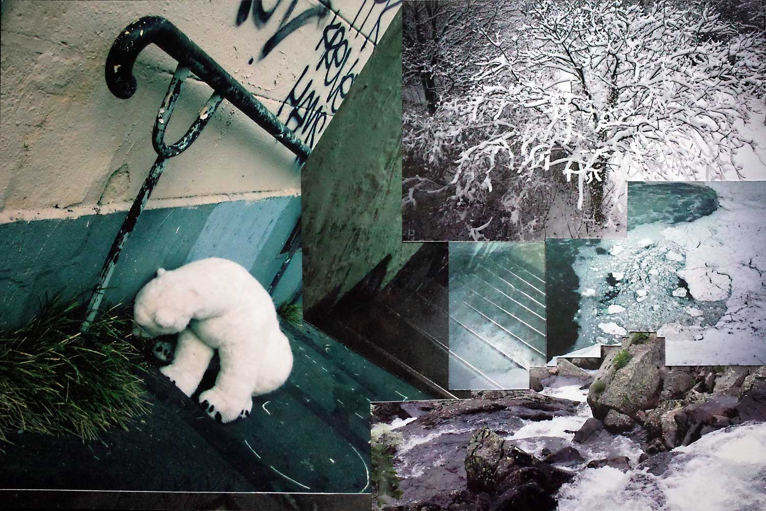 Impasse de l'ours - EmPinsan - collage