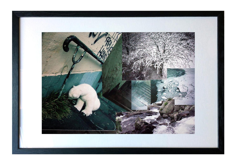 Impasse de l'ours - EmPinsan - collage